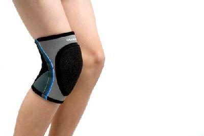 Rehband handball knee support børn 7764 i grå/sort x-large