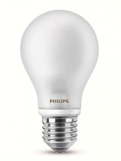 Philips led pære warm white 4,5W 40W 470 lumen E27