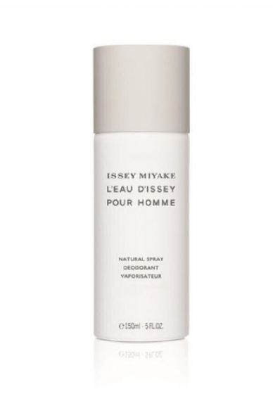 Issey miyake l'eau d'issey pour homme natural spray deodorant 150ml