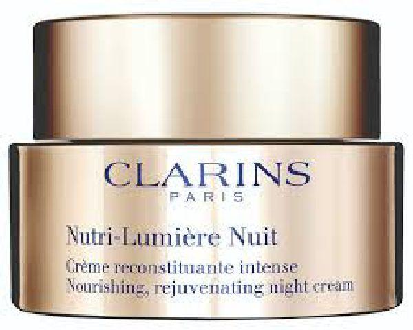 Clarins paris nutri-lumiére nuit nourishing rejuvenating night cream 50ml