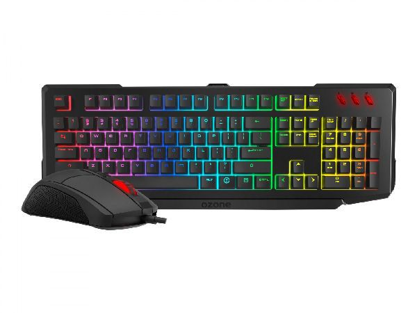 Ozone doubletap gaming keyboard & mouse combo