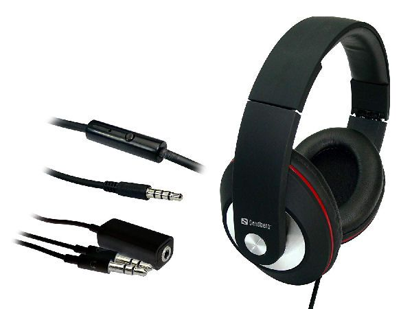 Sandberg play'n go headset for smartphone & pc model 125-86
