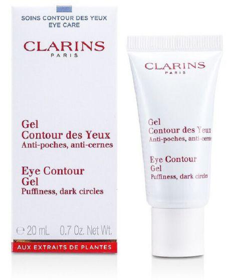 Clarins paris eye contour gel puffiness dark circles 20ml