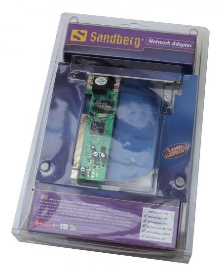 Sandberg network adapter netværkskort