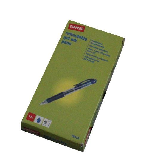Staples 18414 kuglepen 0.7mm pk á 12 stk blå