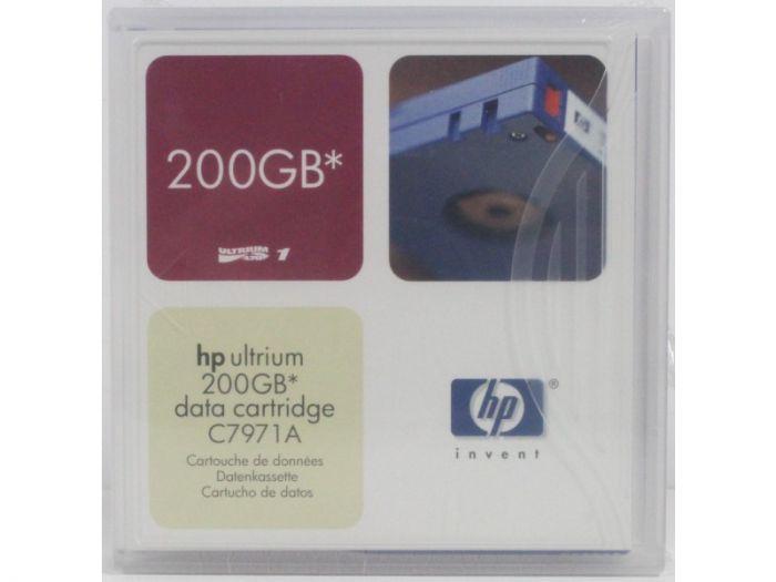 HP Ultrium 1 200GB Data Cartridge C7971A