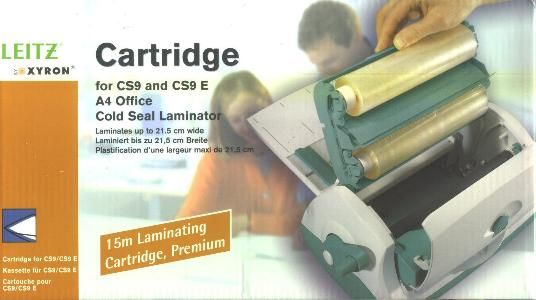 Leitz Cartridge kold laminerings rulle