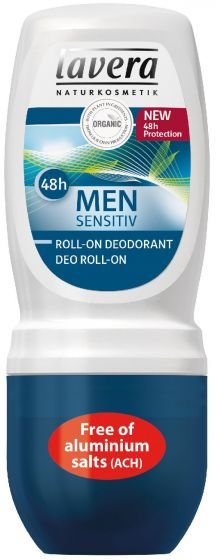 Lavera naturkosmetik men sensitiv deo roll-on 48H 50ml