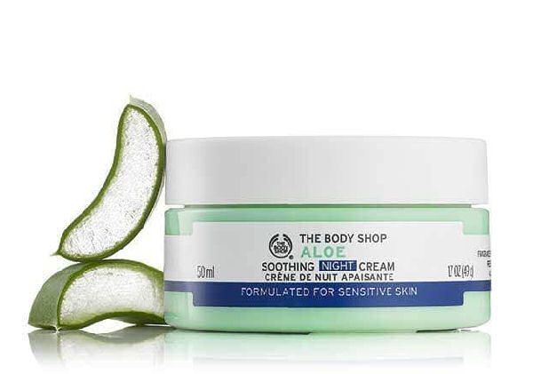 The body shop aloe soothing night cream 50ml