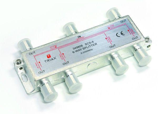 Triax 6-way splitter 349806 SCS-6