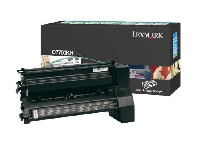 Lexmark C7700KH sort
