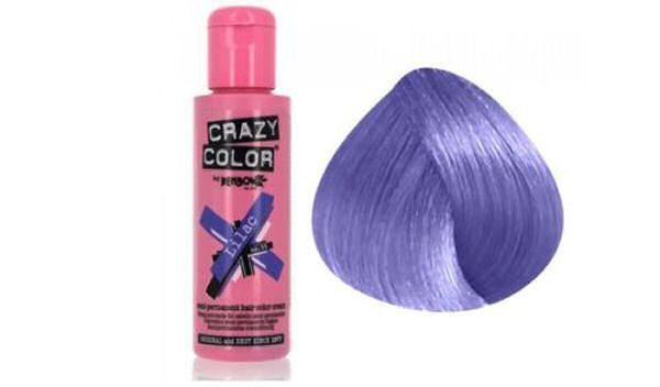 Renbow crazy color lilac no. 55 semi-permanent hair color cream 100ml