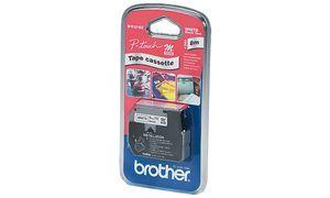 Brother M-K221BZ 9mm hvid, sort tekst 8m