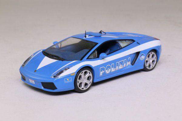 Editions atlas collection police cars lamborghini polizia