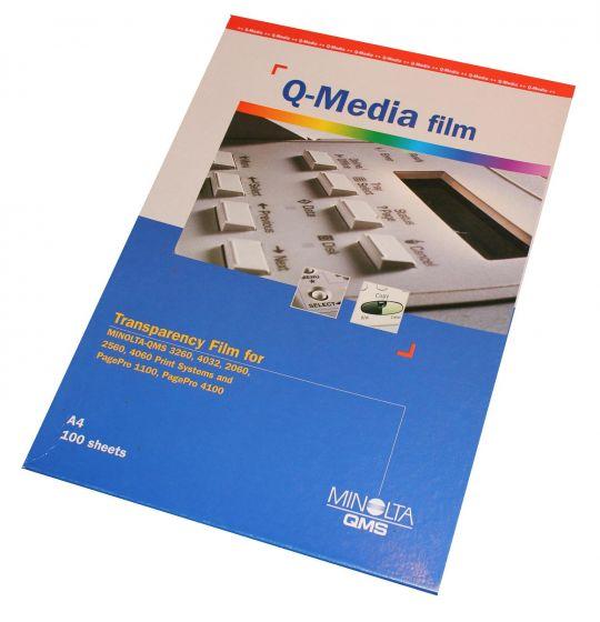 Q-Media transparant film A4