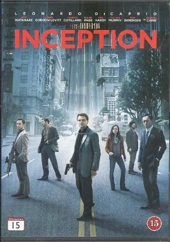 Dvd Blueray Inception