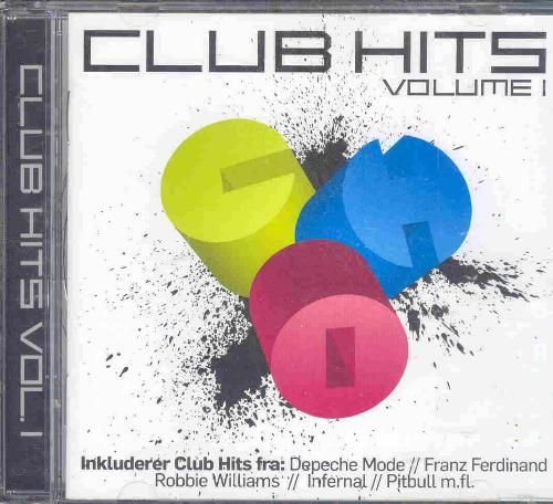 Cd Diverse Kunstnere - Club Hits Volume 1