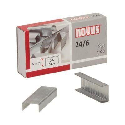 Novus hæfteklammer 24/6 1000 stk