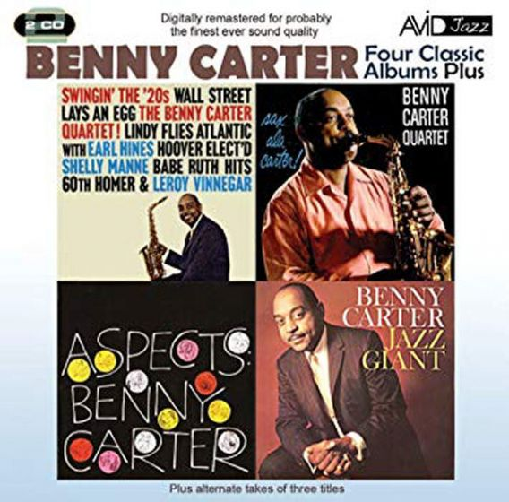 Cd benny carter - four classic albums plus (2 cd'er)