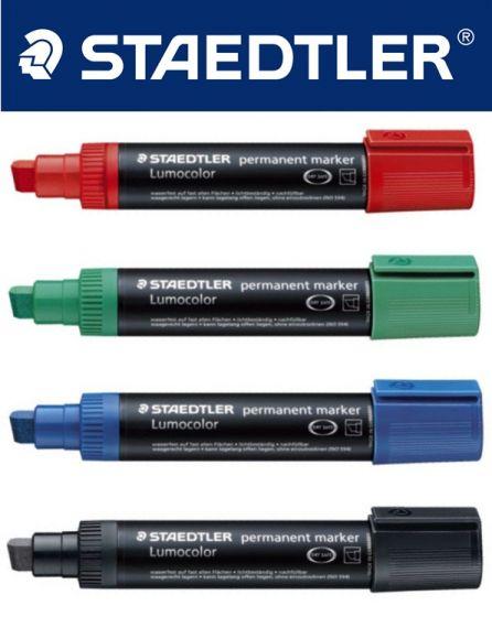 Staedtler 388 Lumocolor permanant marker rød 5 stk