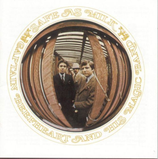Cd captain beefheart & his magic band - safe as milk
