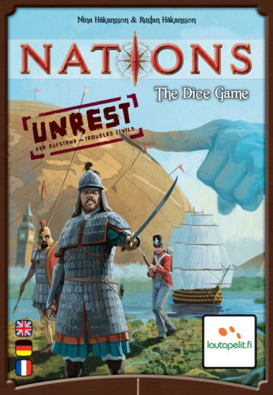 Nations the dice game spil (unrest) expansion