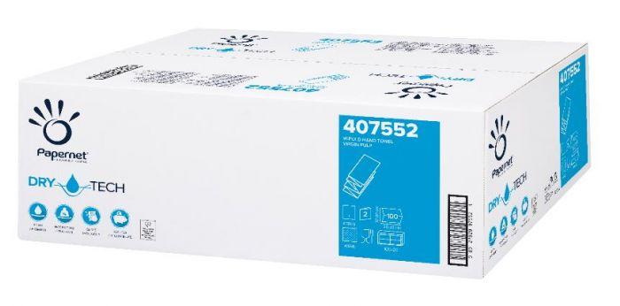 Papernet 407552 W fold håndklædeark
