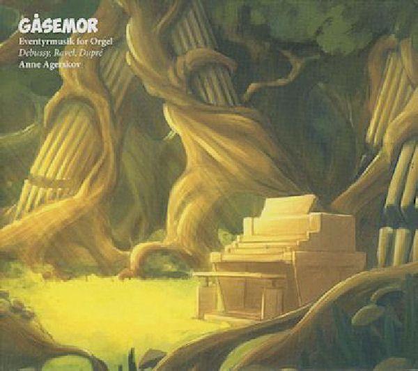 Cd anne agerskov - gåsemor eventyrmusik for orgel