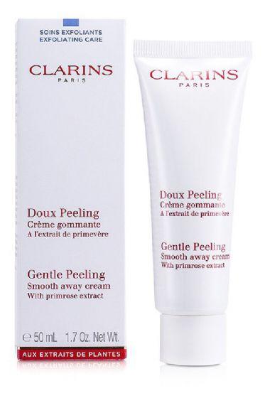 Clarins paris gentle peeling smooth away cream 50ml