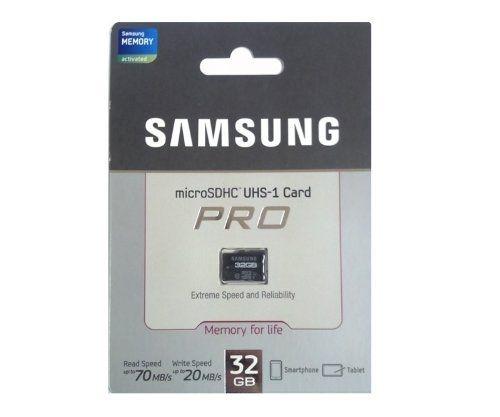 Samsung microSDHC UHS-I card pro 32Gb