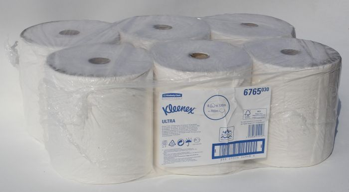Kleenex 6765030 papirruller pk á 6 stk