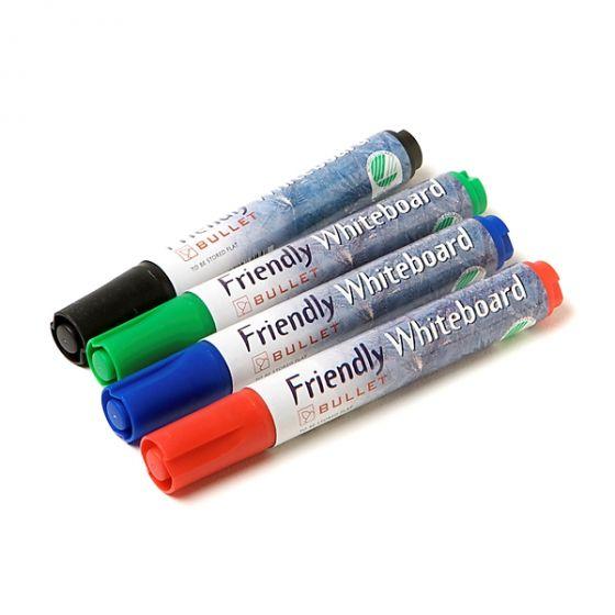 Friendly whiteboard penne pk a 4 stk