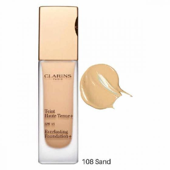 Clarins paris extra-firming foundation SPF15 108 sand 30ml