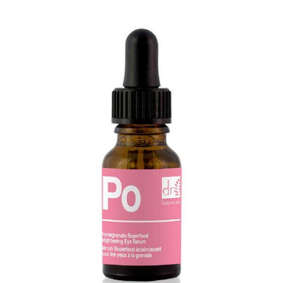 Dr. botanicals pomegranate superfood brightening eye serum 15ml