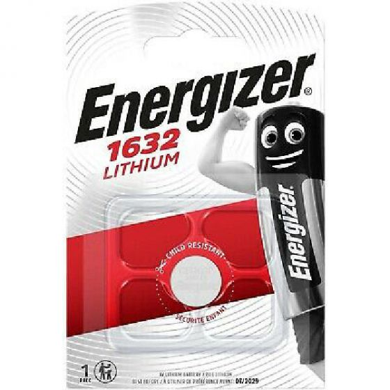 Energizer batteri 1632 lithium