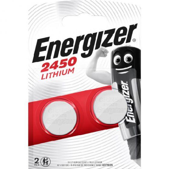 Energizer batteri 2450 lithium 2pk