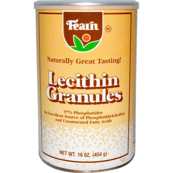 Fearn lecithin granules 454g (kosttilskud)