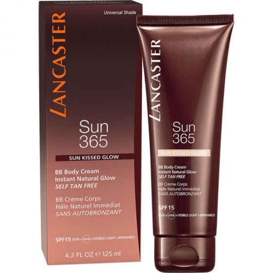 Lancaster sun 365 sun kissed glow bb body cream instant natural glow SPF15 125ml