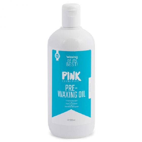Pink cosmetics pre-waxing oil aloe vera 500ml