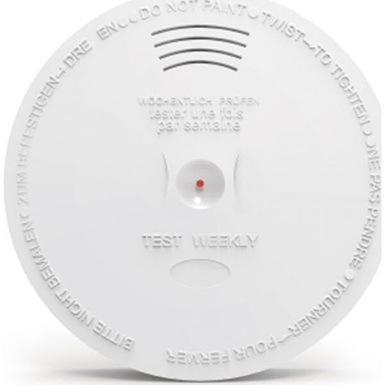 Sikkerthjem smoke detector røgalarm S6 evo compatible
