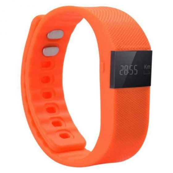 Smart bracelet just run just with me orange