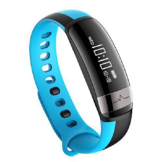 Smart bracelet make life better NRF51822 blue