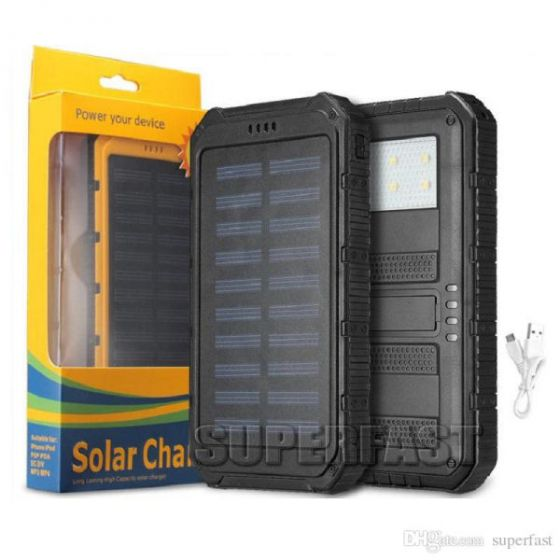 Solar charger power your device