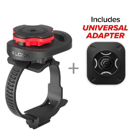 Spigen gearlock bike mount MS100 aerodyn series includes universal adapter
