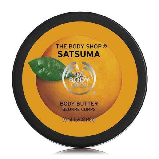The body shop satsuma body butter 50ml