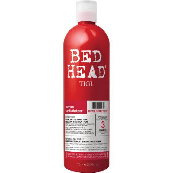 Tigi bed head urban anti-dotes resurrection 3 shampoo 750ml
