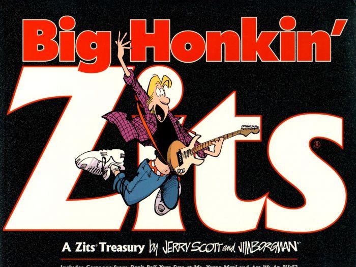 Jerry Scott - Big Honkin Zits