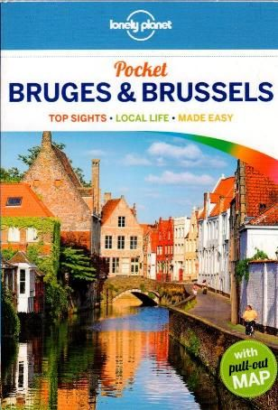 Lonely Planet - Bruges & Brussels pocket 3 udgave