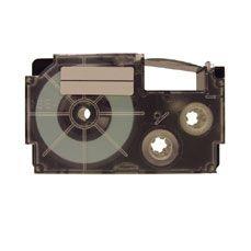 Teksttape XR-18X Casio compatible 18mm sort på klar