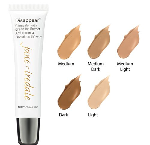Jane Iredale disappear full coverage concealer 12g light